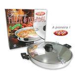 Forma Para Pizza Alumínio Polida - Fulgor
