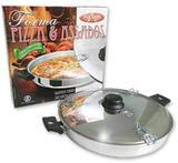 Forma para pizzas polida 28cm fulgor 1085 - Future