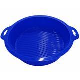 Forma redonda de silicone azul / niazitex