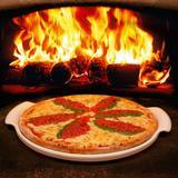 Forma Refratária para Pizza 35 cm Branca - Oxford - Oxford sc