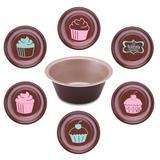 Fôrmas Para Cupcake 6 Peças La Pasticceria 27899037 Tramontina