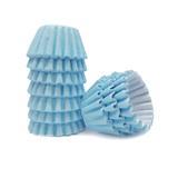 Forminha para Doces Lisa Azul Claro No 6 c/100 - Flopel