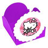 Forminhas para Doces  Hello Kitty Roxa- 10 unds - Mz decoraçoes e festas