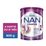 Fórmula Infantil NAN COMFOR 2 Lata 800g - Nestlé
