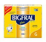 Fralda Bigfral Plus Grande C/8 Uniidades