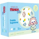 Fralda De Pano Turma Da Monica - Masculino - Turma da mônica