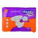 Fralda Descartável de Adulto Readysec para Incontinência Urinária - 24 unidades - Higiefarm