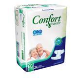 Fralda Descártavel Geriátrica Confort Master EG C/26 - Ccm indústria e comércio