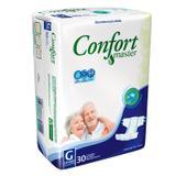 Fralda Descartável Geriátrica Confort Master G C/30 - Ccm indústria e comércio