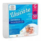 Fralda Descartável Geriátrica Unicare G C/50 Pacotão Econômico - Protdesc do brasil  ltda