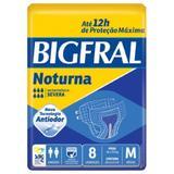 Fralda geriatric bigfral noturna m 8 pct. c/8 cxf