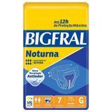Fralda Geriátrica Bigfral Noturna G Com 7 Unidades