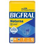 Fralda Geriátrica Bigfral Noturna G Com - 7 Unidades