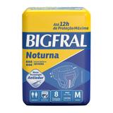 Fralda Geriátrica Bigfral Noturna M - 8 Unidades
