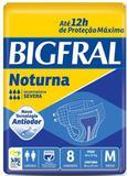 Fralda Geriátrica Bigfral Noturna  (Tam. M - Pct c/ 08 Unds.) - Bigfral