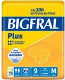 Fralda Geriátrica Bigfral Plus (Tam. M - Pct c/ 09 Unds. ) - Bigfral