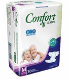 Fralda Geriatrica Confort Master M 30/ G 30/ Eg 26 - Masterfral