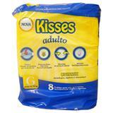 Fralda geriátrica kisses tamanho g - 8 unidades - Midiz ind comercio