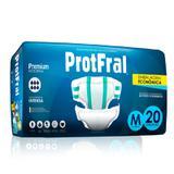 Fralda Geriatrica Noturna ProtFral M 20