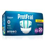 Fralda Geriatrica Noturna ProtFral Xg 20