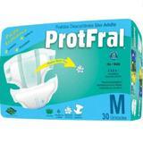 Fralda geriatrica protfral m 4 pct.c/30 cxf