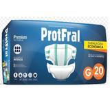 Fralda geriatrica protfral premium g c/20