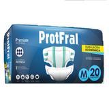 Fralda geriatrica protfral premium m c/20