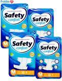 Fralda Geriatrica Safety Confort Mega Tamanho M Com 30 unidades - Ccm