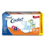 Fralda geriátrica tena c/26 confort md pc