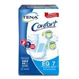 Fralda geriátrica tena c/7 confort plus eg pc