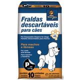 Fraldas Descartáveis para Cães Tamanho P - Pet society