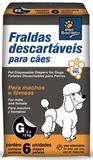 Fraldas Descartáveis Pet Society Tamanho G