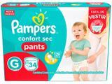 Fraldas Pampers Pants Confort Sec Tam. G - 34 Unidades
