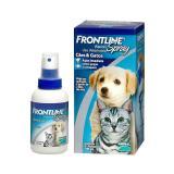 Frontline spray 100 ml validade 12/20 antipulgas - Merial