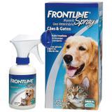 Frontline spray 250ml validade 03/21 antipulgas - Merial
