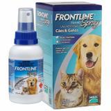 Frontline Spray Antipulgas E Carrapatos Cães E Gatos 100ml - Merial