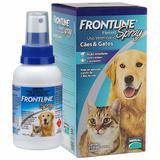 frontline spray para cães e gatos - 100 ml - Merial