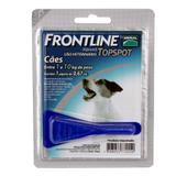 Frontline Top Spot Cães até 10kg Merial Antipulgas e Carrapatos - Descrição marketplace - Merial boehringer