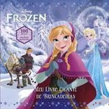 Frozen - Meu Livro Gigante de Brincadeiras - Vergara  riba