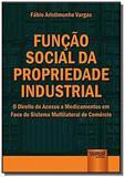 Funcao social da propriedade industrial: o direito - Jurua