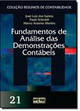 Fundamentos de Análise das Demonstrações Contábeis - Vol.21 - Coleção Resumos de Contabilidade - Atlas - grupo gen
