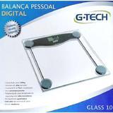 G Tech Balança Digital Glass Vidro 150kg - Tech line