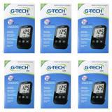 G Tech Free Lite Aparelho Medidor de Glicose C/10 Tiras (Kit C/06) - G life