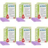 G Tech Lancetas P/ Aparelho Medidor de Glicose C/100 (Kit C/12) - G life