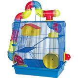 Gaiola Hamster 3 Andares - Desmontável - Jel plast