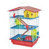 Gaiola Hamster 3 Andares Desmontável - Jel plast