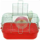 Gaiola Hamster Completa Pop Star Branco - Vermelho - American pets