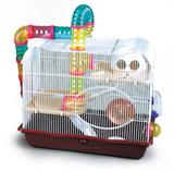 Gaiola Hamster Safari American Pets Tamanho GIG Laranja