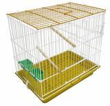 Gaiola para Canários e outras Aves Cor Amarela - Contrerapet
