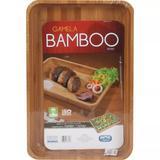 Gamela Retângular de Bamboo e Resistente 30x45x5cm MOR 3361
